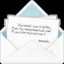 mail open envelope 2 icon