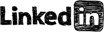 logo, linkedin icon