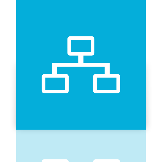 network, mirror icon