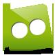 Flickr, Green icon