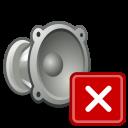 muted, audio, volume icon