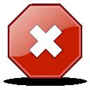 gtk, close, no, stop, cancel icon