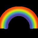 rainbow,weather icon