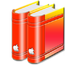 libraryred icon