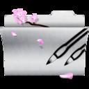 photoshop,white,folder icon