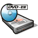 Drive, Dvd, Rw icon