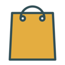Bag shop icon
