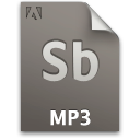 audio, file, mp3, document, sb, secondary icon