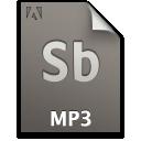 audio, file, mp3, document, sb, secondary icon