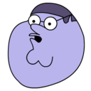 peter,griffin,blueberry icon