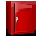 locker, empty, blank icon
