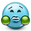puke, emot, disgusted, disgust, sick, disgusting, smiley face, smiley icon