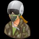 Female, Light, Pilotmilitary icon