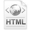 code, html, paper, file, document icon