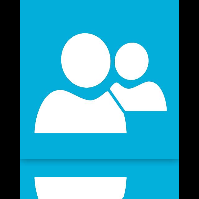 live, messenger, mirror icon