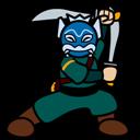 Blue, Spirit icon