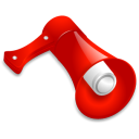 Advertiseting, Blog, Loudspeaker icon