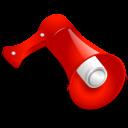 blog, loudspeaker icon