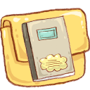 notebook, folder icon