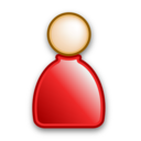 user,real,person icon