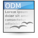 Application, Master, Vnd.Oasis.Opendocument.Text icon