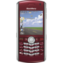 blackberry,pearl,red icon