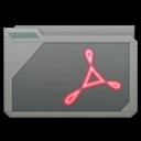 folder adobe acrobat icon