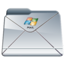 windows,mail,folder icon