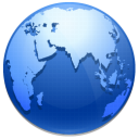 world, browser, network, earth, planet icon