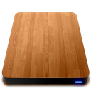 Drives, External, Slick, Wooden icon