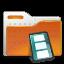 movie, video, folder icon