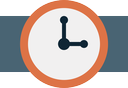 time, watch, alarm, timer, clock icon