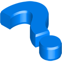 faq, blue icon