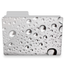 water drops folder icon