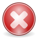 stop, no, process, cancel icon