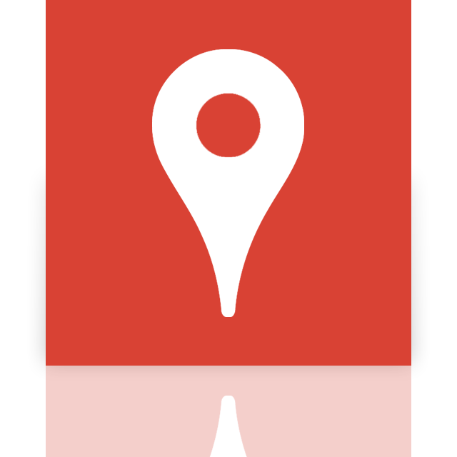 mirror, google, places icon