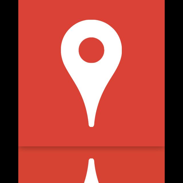 mirror, google, places icon