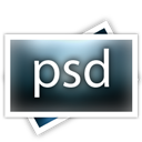 Filetype, Psd, Px icon
