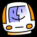 imac,tangerine icon