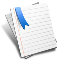 note, bookmark, document, file, paper, default icon