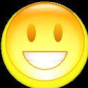 smile, smiley, face, emot, funny, emotion, fun, happy icon