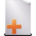 new, document icon
