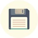 save, storage, disk, download, drive, floppy icon