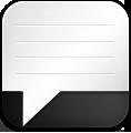 Alt, Message icon