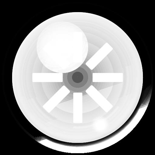 reboot, bubble icon