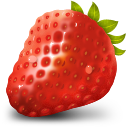 fruit, strawberry, healthy icon