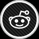 online, media, social, reddit icon