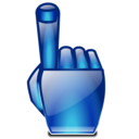 point, hand, finger icon