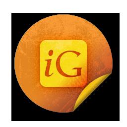 igooglr, square, logo icon