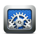 gears, utilities, settings, execute, preferences, system icon